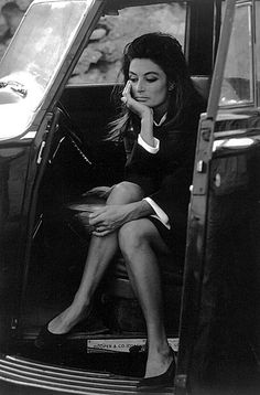 Anouk Aimée on the set of Justine 1968 - Photographed by Eve Arnold - Justine - Film américain réalisé par George Cukor, et sorti en 1969.