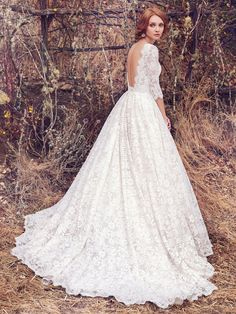 2ad17c7f8bdab Cordelia | 7MZ926 | Also Available in Plus Size | Maggie Sottero |  Available at Lulu's. Wedding ...