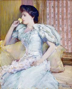 Childe Hassam - Lillie Langtry [c.1898] | Flickr - Photo Sharing!