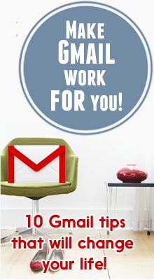 Awesome tips to help you maximize the power of Gmail. Super-duper helpful! Via Alli Worthington