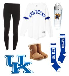 """Game day"" by elizabethnutt ❤ liked on Polyvore featuring Splendid and UGG Australia"