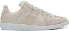 MAISON MARTIN MARGIELA Grey Replica Sneakers. #maisonmartinmargiela #shoes #sneakers