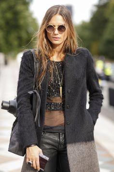 Street Style London Fashion Week primavera verano 2013 | Galería de fotos 36 de 142 | Vogue
