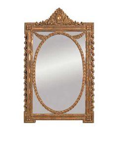 Emerson Et Cie Rectangular Baroque Mirror EC-23132
