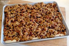 """How To Make Your Own """"Highly Addicting"""" Granola Clusters. · One Good Thing by Jillee Breakfast Recipes, Snack Recipes, Cooking Recipes, Costco Recipes, Freezer Recipes, Breakfast Dessert, Freezer Cooking, Healthy Recipes, Healthy Breakfasts"""
