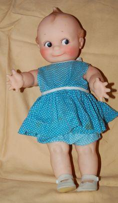 Vintage vinyl Kewpie doll