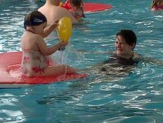 Aquatots swimming and Erin