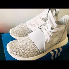 online retailer 02859 0a2ff adidas Shoes   Adidas Women Tubular Defiant   Color  White   Size  6