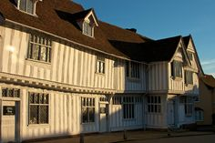 Lavenham Guildhall is a masterpiece of medieval carpentry. A fine, stout building that has played a central role in the civic life of this town for centuries.