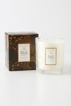 Voluspa Boxed Candle In store now Trouvé Voluspa Candles, Scented Candles, Candle Box, Candle Jars, Cut Glass, Clear Glass, Birds Of Paradise Flower, Home Candles, Holly Berries