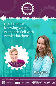 AmyK Hutchens started her career as an elementary teacher, and is still teaching today, however from the stage and at a global and corporate level.   During our chat, we discuss the need to ditch the cookie cutters, tune out the noise of social media, and be our true, authentic selves. We also talk about the good and bad of social media, the quirkiness of life, the choices we have in how we react to situations, and so much more!  #authenticity #socialmedia #focus #communication Authentic Self, Listening Skills, Elementary Teacher, Honesty, Healthy Relationships, Authenticity, Cookie Cutters, Productivity, Knowing You