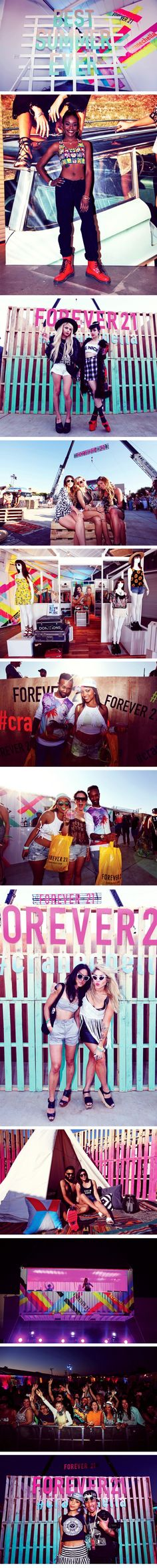 If you weren't in Palm Springs this weekend, check out the #F21Blog for a #Cranechella recap! #ForeverFest