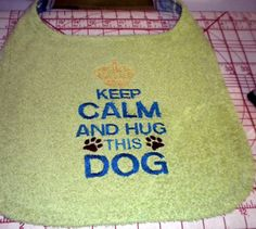 Large dog drool bib by SlobberStoppers on Etsy, $28.00