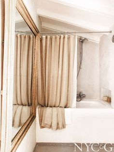 French Country Vacation Home Bathroom