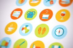 Check out Flat Vector Travel And Tourism Icons by painterr on Creative Market