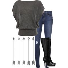 """""""Tori Boots"""" by heather-laken-michael on Polyvore"""