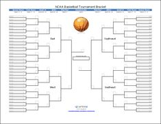 game bracket template - 7 team 3 game guarantee tournament bracket printable