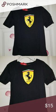 69065c0e99b1 Puma Ferrari shirt Sz. 4t. In great used condition. Puma Shirts   Tops Tees  - Short Sleeve
