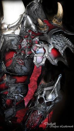 Chaos female armor by ~Deakath on deviantART