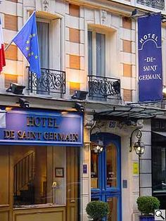 Where to Stay: Paris: Hôtel de Saint Germain (4 star)