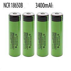 4Pcs 3.7V 18650 9800mah Li-ion Rechargeable Battery for LED Flashlight Torch Black Scaling 18650 Battery