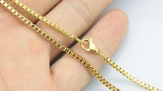 20pcs 28inch 2mm 316L stainless steel golden color by aliyafang, $57.00
