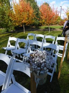 Love the simple look of country.  http://www.tailracecentre.com.au/weddings/