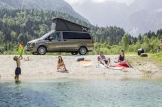 Mercedes has revealed both the Marco Polo camper and the Marco Polo Activity at this year's Düsseldorf Caravan Salon. The Activity brings a light, athletic footprint to overnight road tripping. Mercedes Vito, Mercedes Benz, Polo 2015, Camper Lights, Living On The Road, Parasailing, Marco Polo, Expedition Vehicle, Water Tank