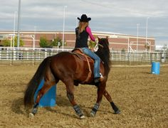 Barrel racing secrets ..turns