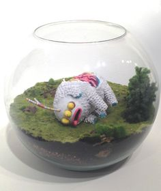 Taxidermy by Juan Carlos Paz -BAKEA-, via Behance