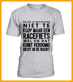 Wielren humor shirt racefiets is geluk - Fan shirts (*Partner-Link)