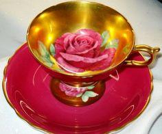 PARAGON ROYAL RUBY PINK RED ROSE GOLD