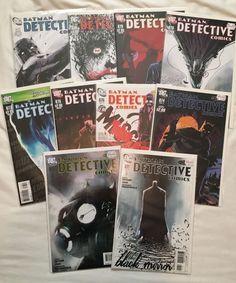 Lot of 10 Detective Comics #871 872 874-881 Snyder Jock Joker Black Mirror DC