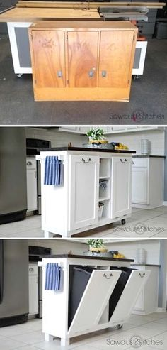Good idea for cardboard/ paper recycling.