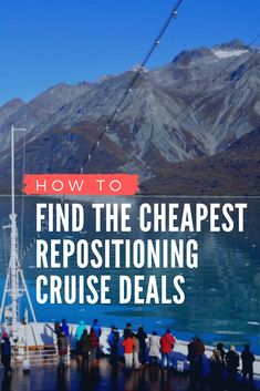 Did you know that repositioning cruises can be an inexpensive way to travel between continents in luxury? Here's out tips and tricks to score the best deal for a repositioning cruise! Packing List For Cruise, Cruise Tips, Cruise Travel, Cruise Vacation, Honeymoon Cruises, Vacations, Ways To Travel, Travel Tips, Budget Travel