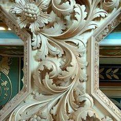 『AHMAD ALHAJ IBRAHIM』 (@ahmad_alhaj_ibrahim) • Instagram photos and videos Wood Carving Designs, Wood Carving Art, Wood Sculpture, Wall Sculptures, Filigree Tattoo, Plaster Art, Floral Drawing, Wooden Art, Sacred Art