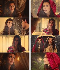 Once Upon a Time. Ruby/Little Red Riding Hood