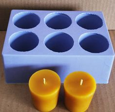 Silicone candle Mold silicone votive candle mold round