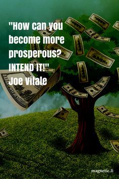 Becoming prosperous is a lot easier if you simply intend it! Read my blog post to discover powerful tips that may help you manifest money into your life