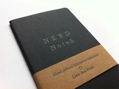 Nerd Notes by Little Red Press