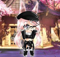 i like this gacha cause i looks cute Gif Kawaii, Kawaii Chibi, Kawaii Anime Girl, Anime Art Girl, Anime Girl Drawings, Cute Kawaii Drawings, Cute Anime Chibi, Neko Cat, Anime Life