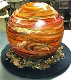 Jupiter. Yep, that's actually a cake!
