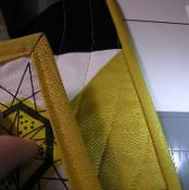 How to Bind a Quilt - via @Craftsy
