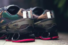 "Raf Simons x adidas 2014 Fall/Winter ""Bounce"" Sneakers | Hypebeast"