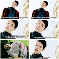 """merlin - """"You will always be a dollophead."""""""