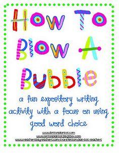 fun expository writing activity