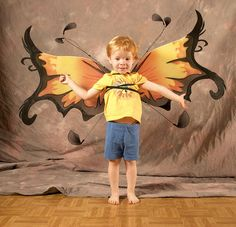 Make Butterfly Costumes for Toddlers - wikiHow