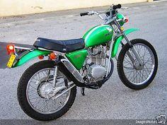 Honda 125 sl 1976