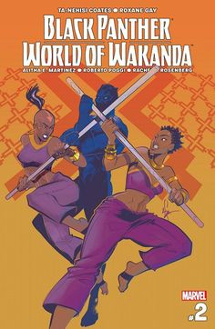 Black Panther – World of Wakanda n°2 (21.12.2016) // TRAINING DAY! Ayo and Aneka are given their first assignments as Dora Milaje: protect Queen Shuri at all costs! Meanwhile, T'Challa the former king lies with bedfellows so dark, disgrace is inevitable. See a major plot point from Hickman's NEW AVENGERS run from a completely new point of view: one that changes everything… #black #panther #marvel #comics
