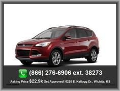2013 Ford Escape SEL SUV  Vehicle Emissions: Ulev Ii, Cruise Control, Center Console: Full With Covered Storage, Fuel Consumption: Highway: 33 Mpg, Body-Colored Bumpers, Overhead Console: